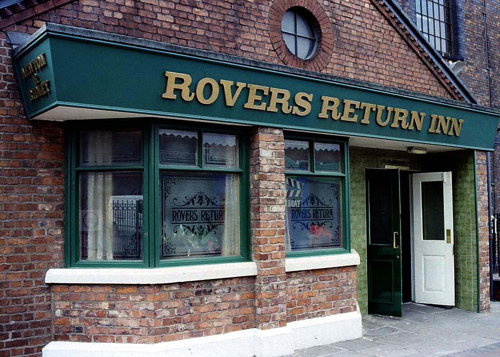 Trying out Coronation Street