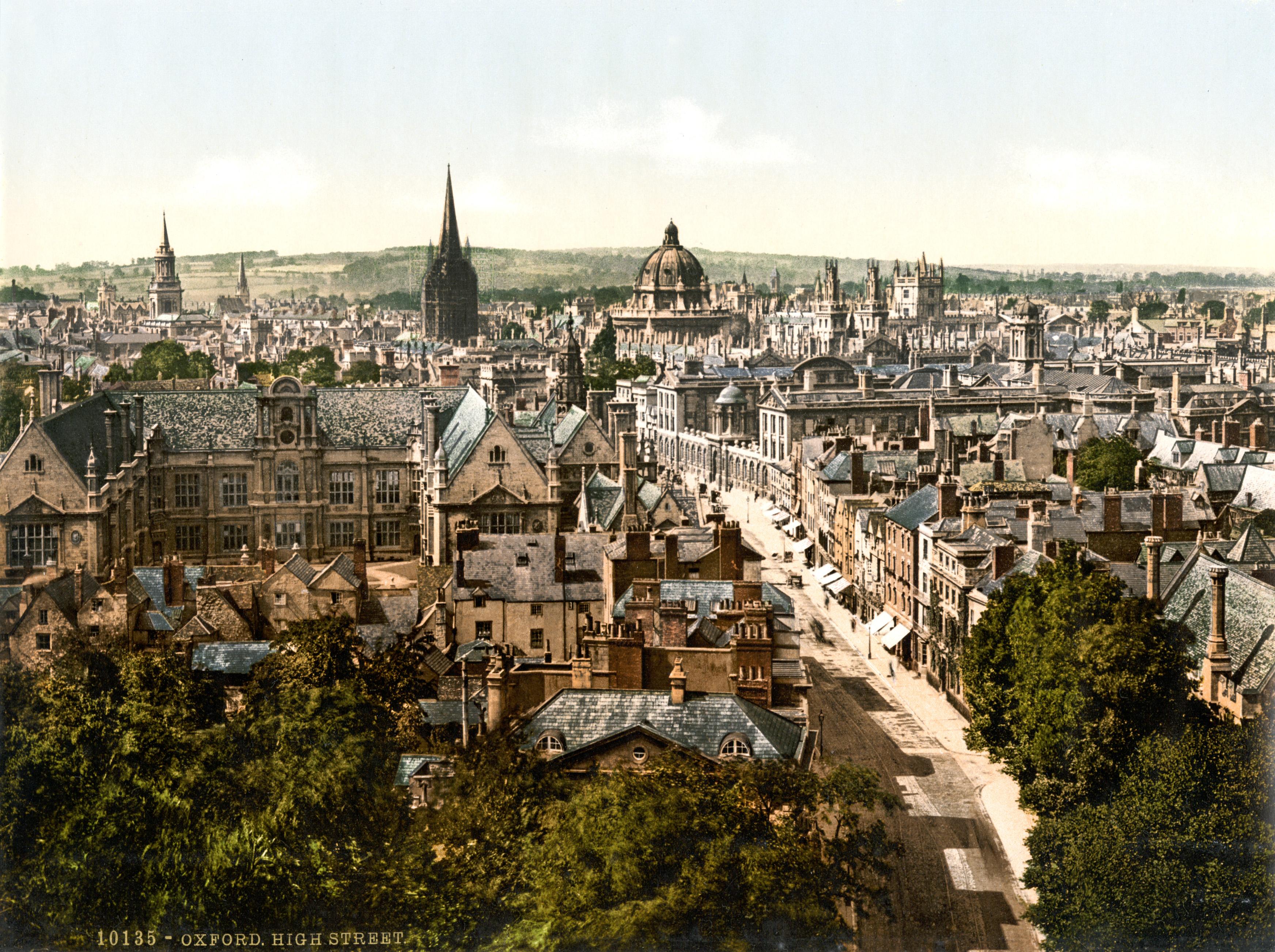 So, you've got into Oxford…