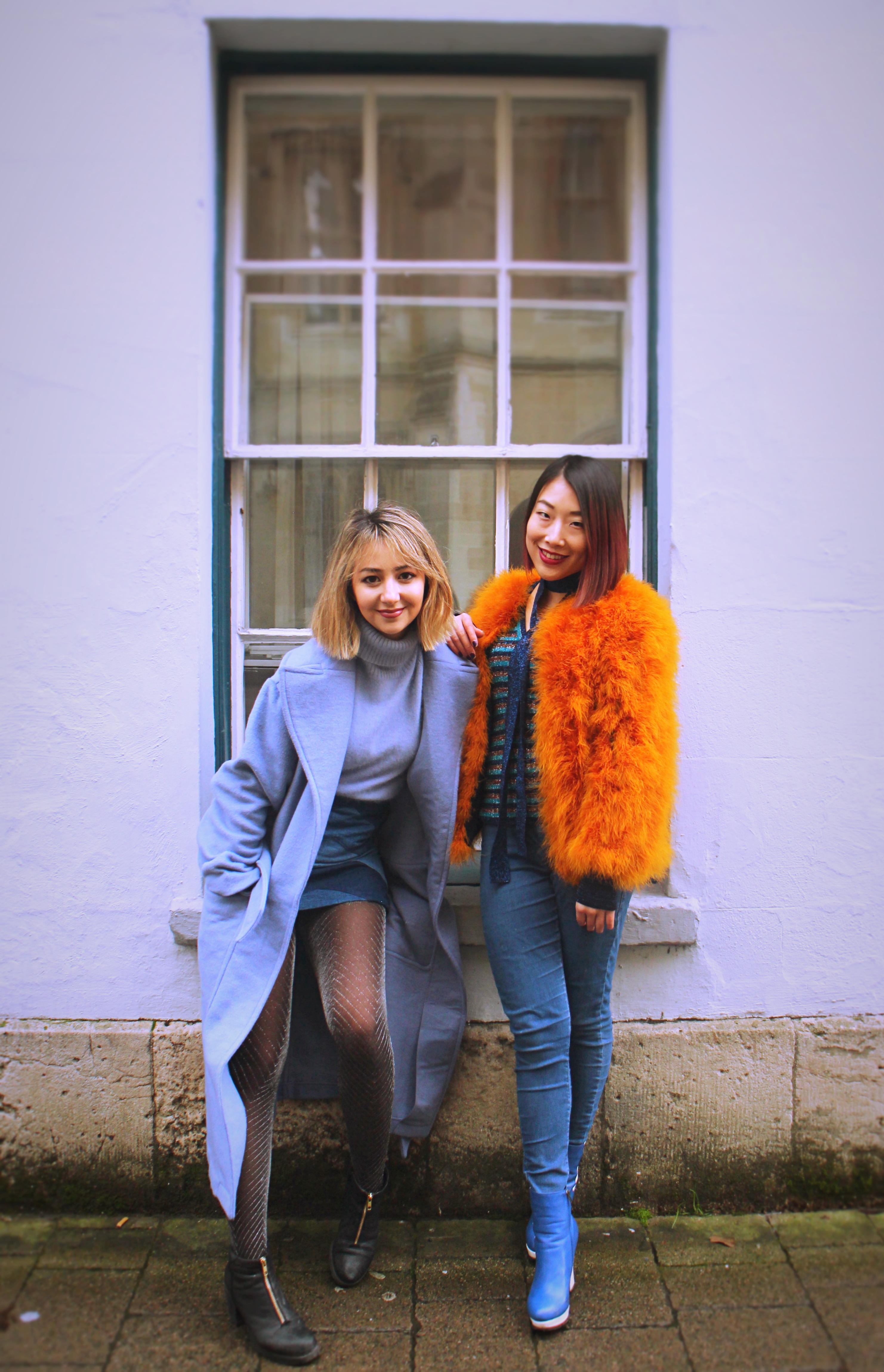 Fashion shoot: January brights
