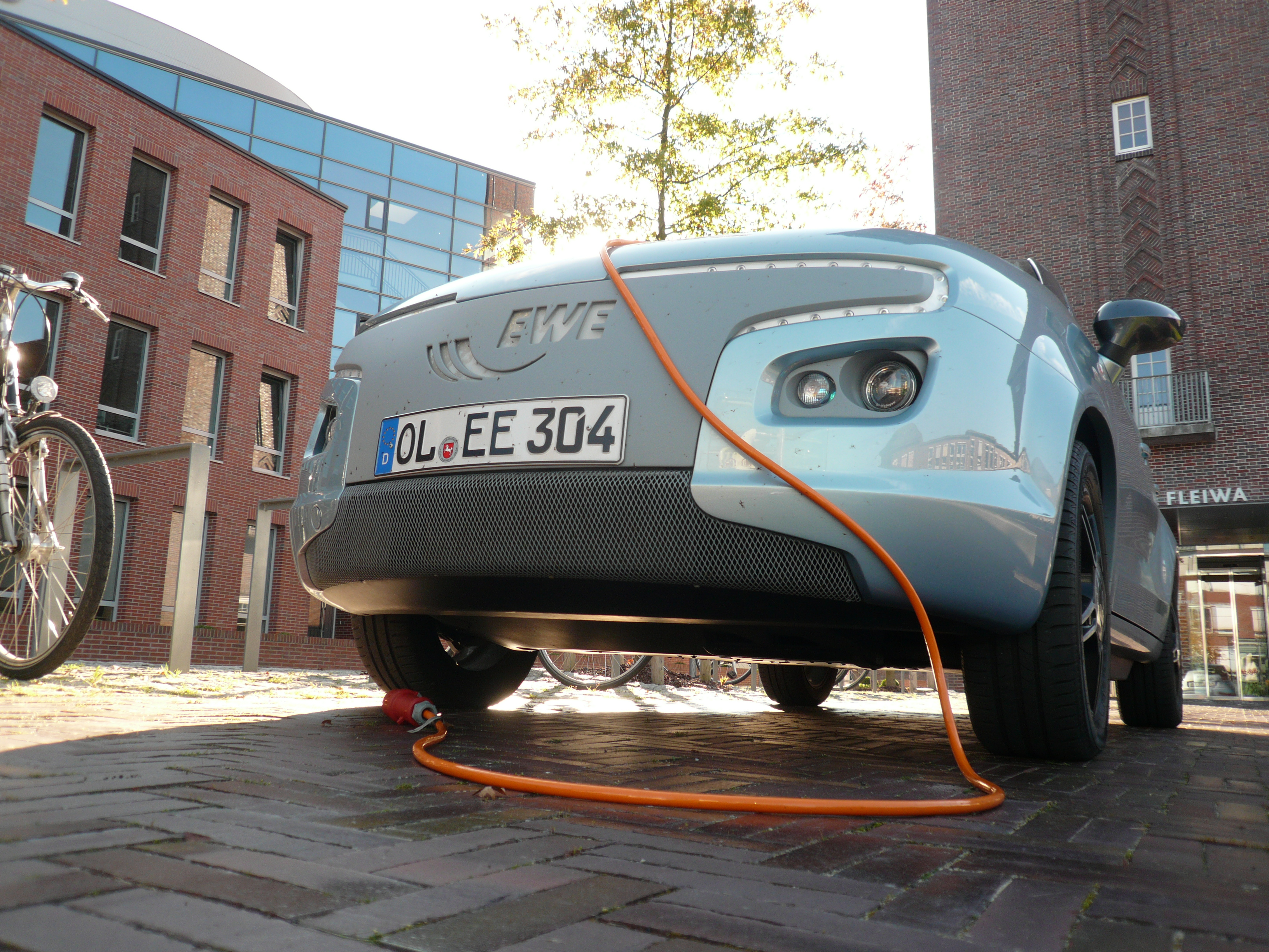 Oxford to participate in national electric car infrastructure pilot