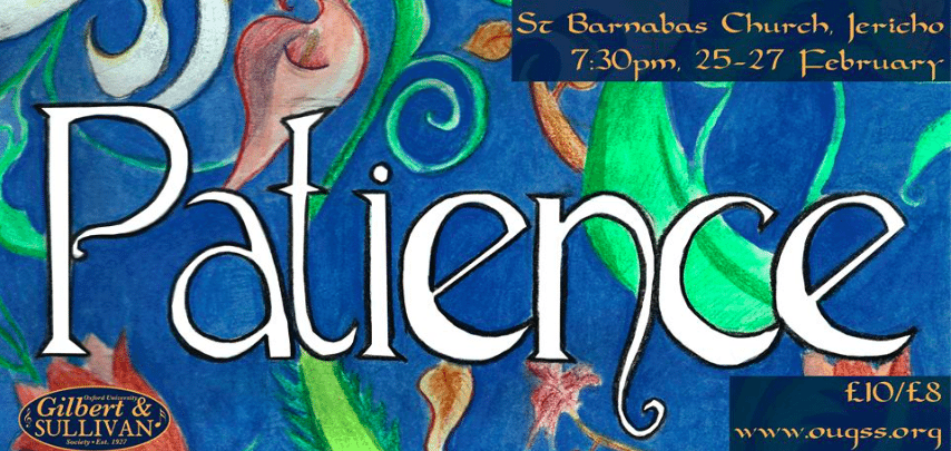 Patience – A Review