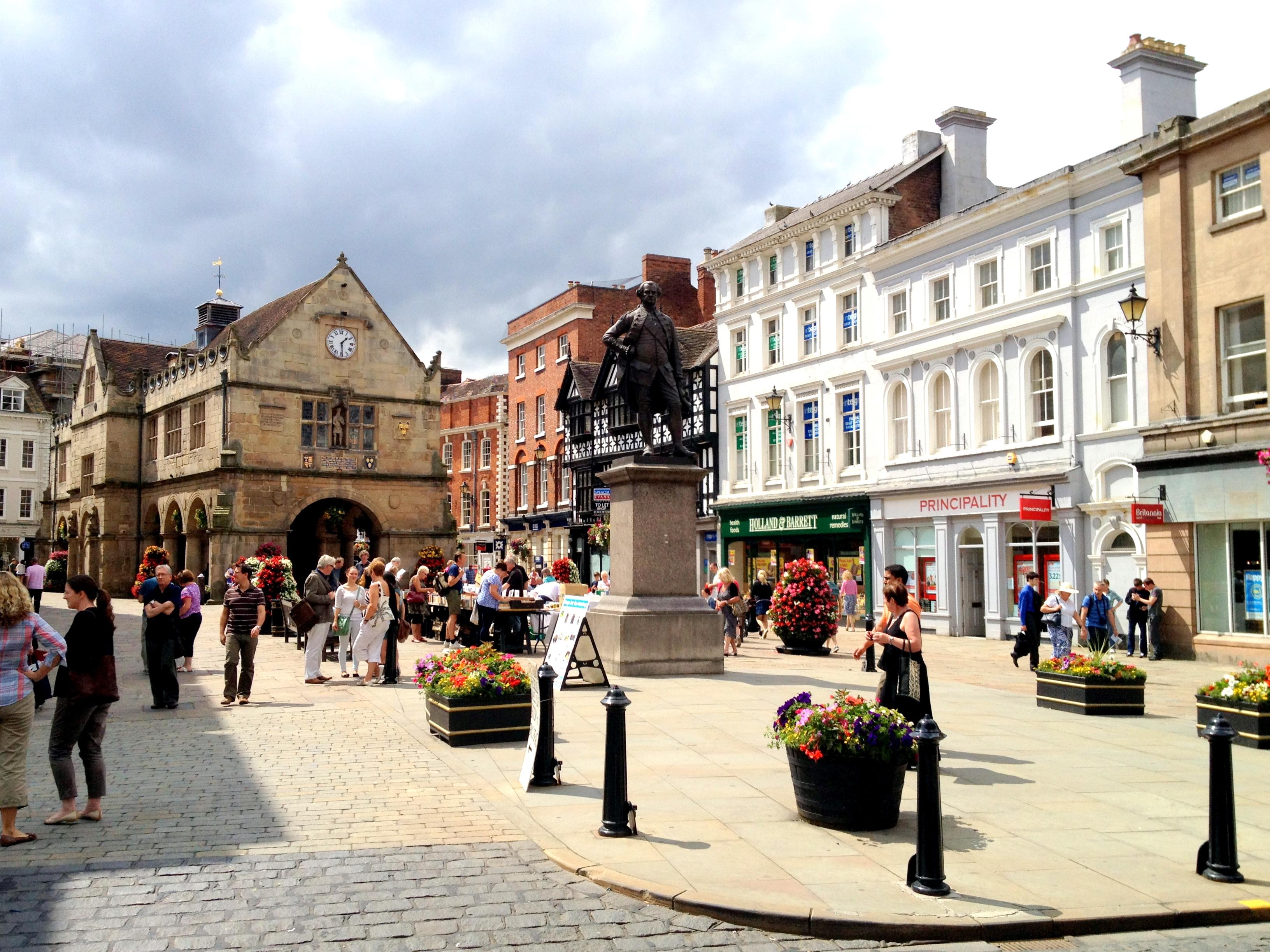 Shrewsbury: the original one off