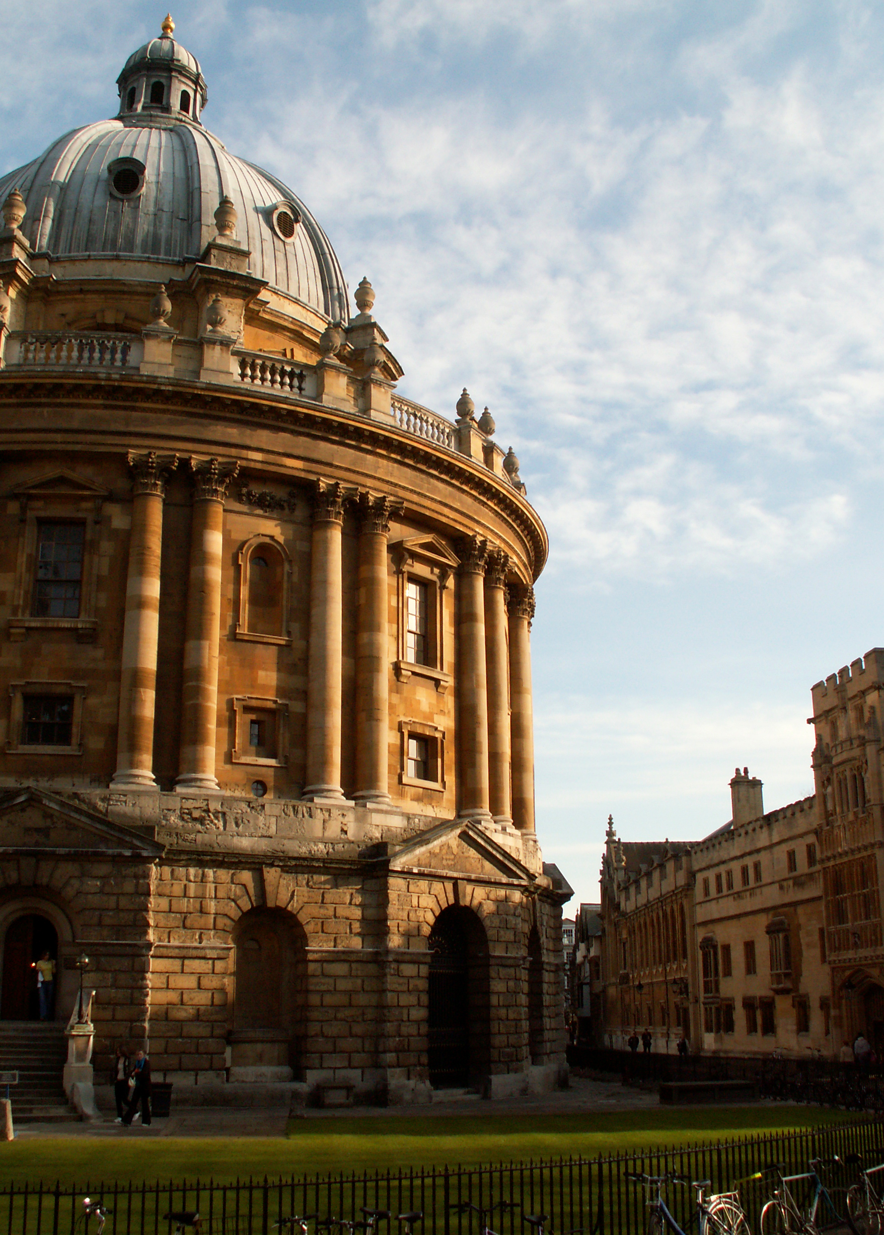 It's not me that's inadequate: it's Oxford University