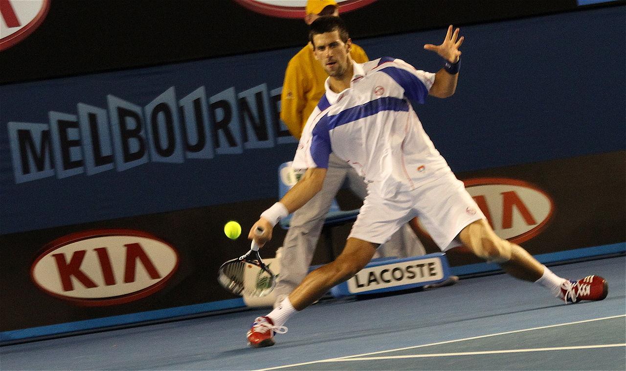 Dominant Djokovic keeping himself ahead of the pack