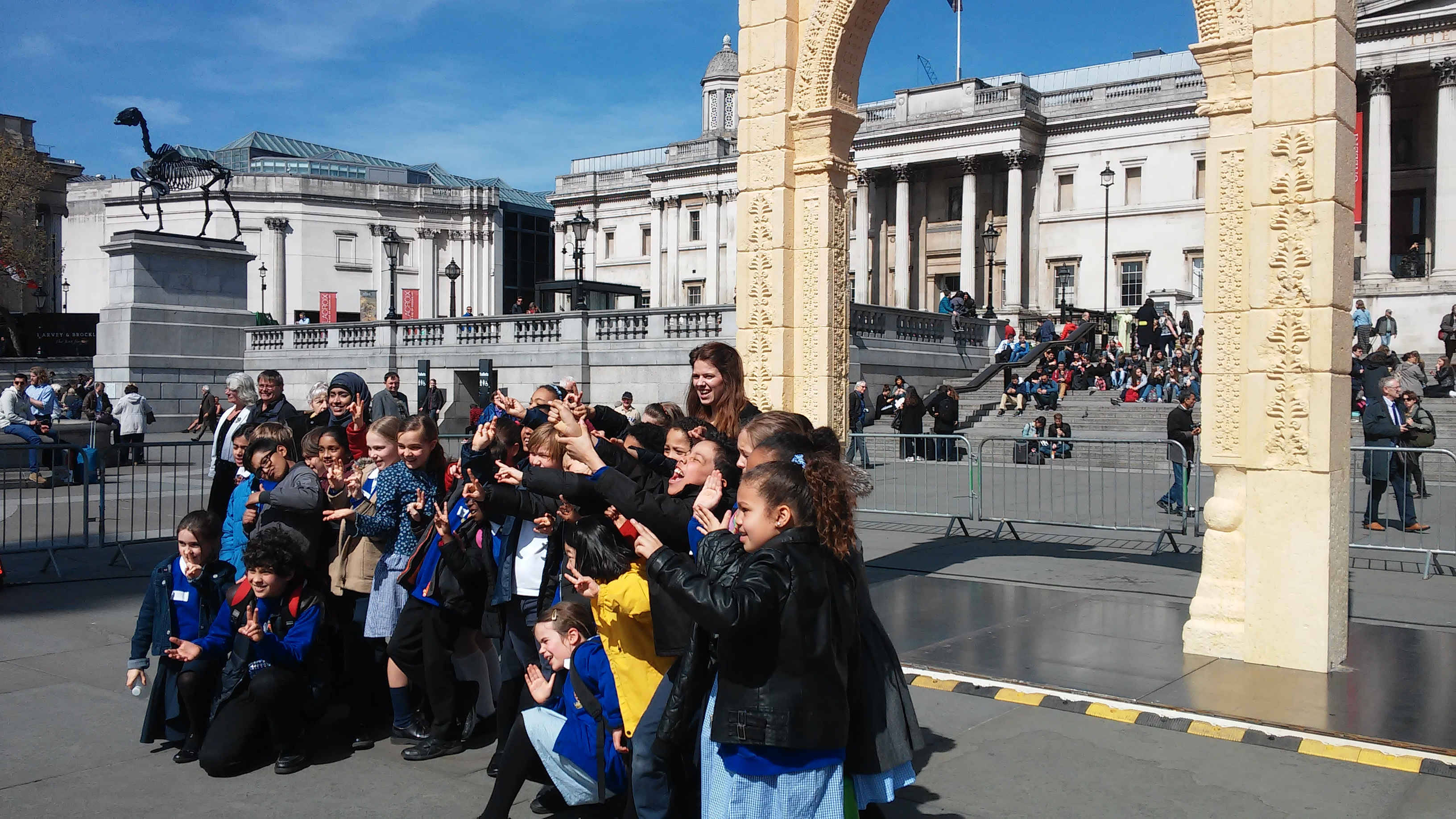 Palmyra's Arch and Gateways Programme revealed in London
