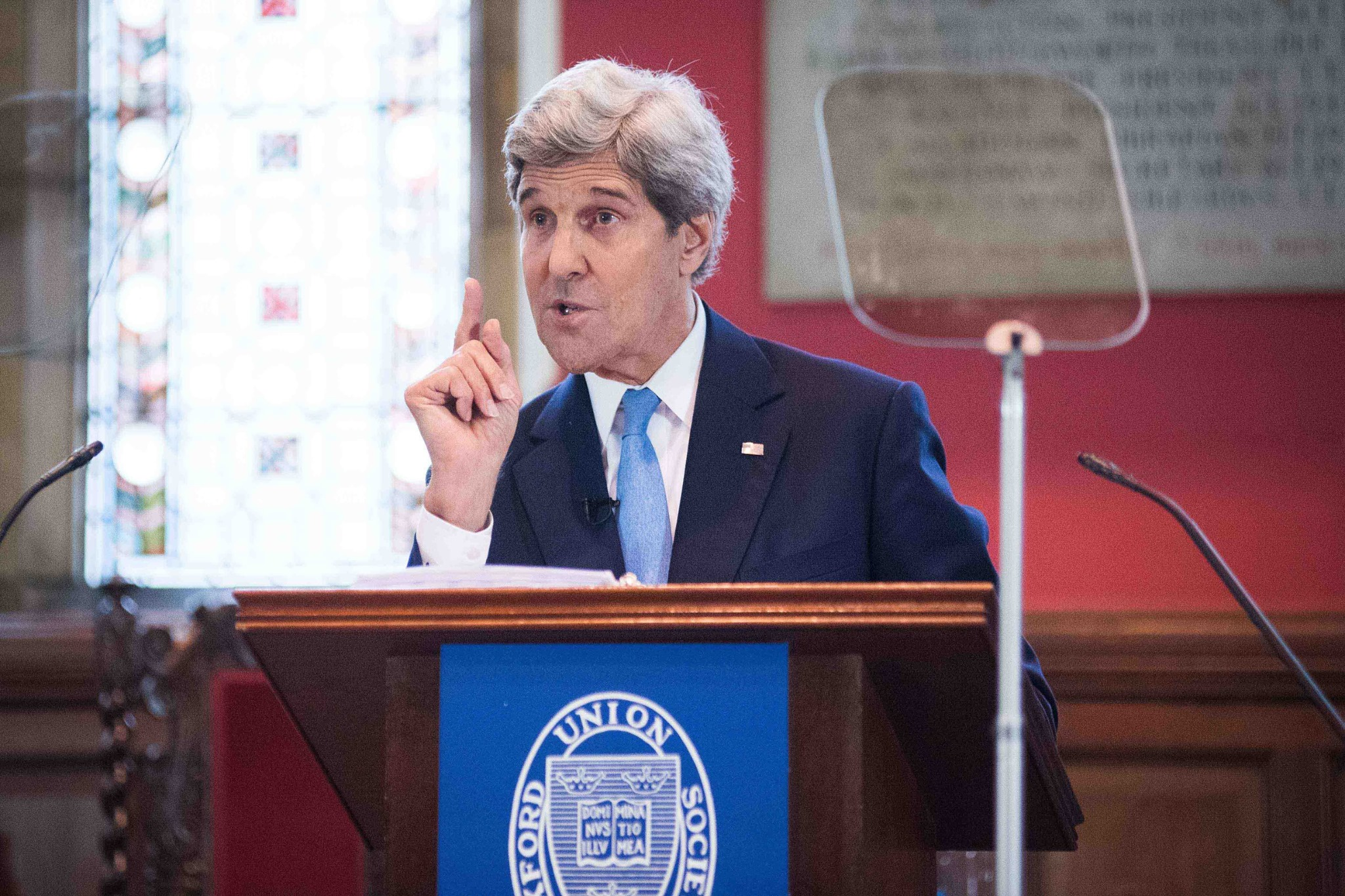 John Kerry comes to the Oxford Union