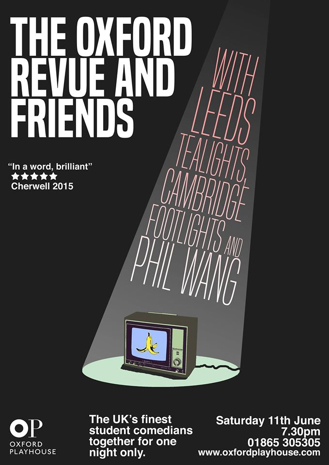 The Oxford Revue and Friends – A preview
