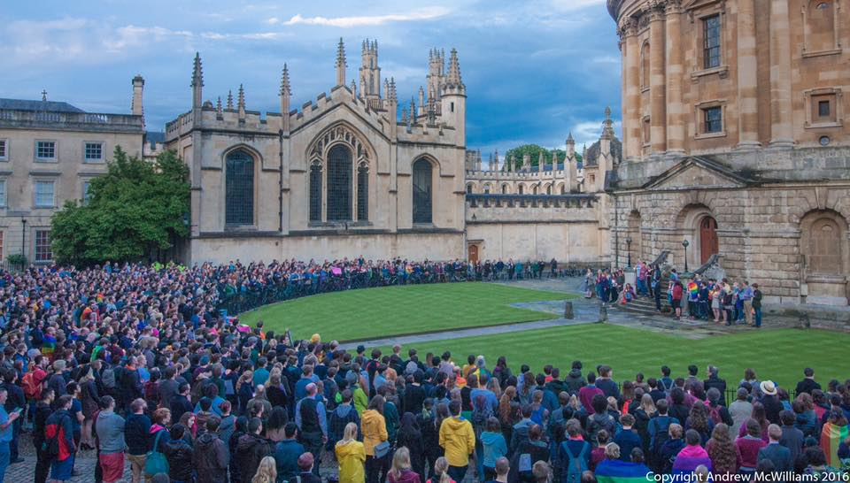 Oxford stands with victims of Orlando attack