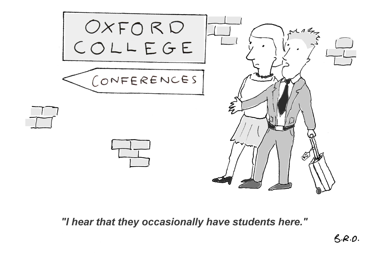 Cartoon: Summer in Oxford