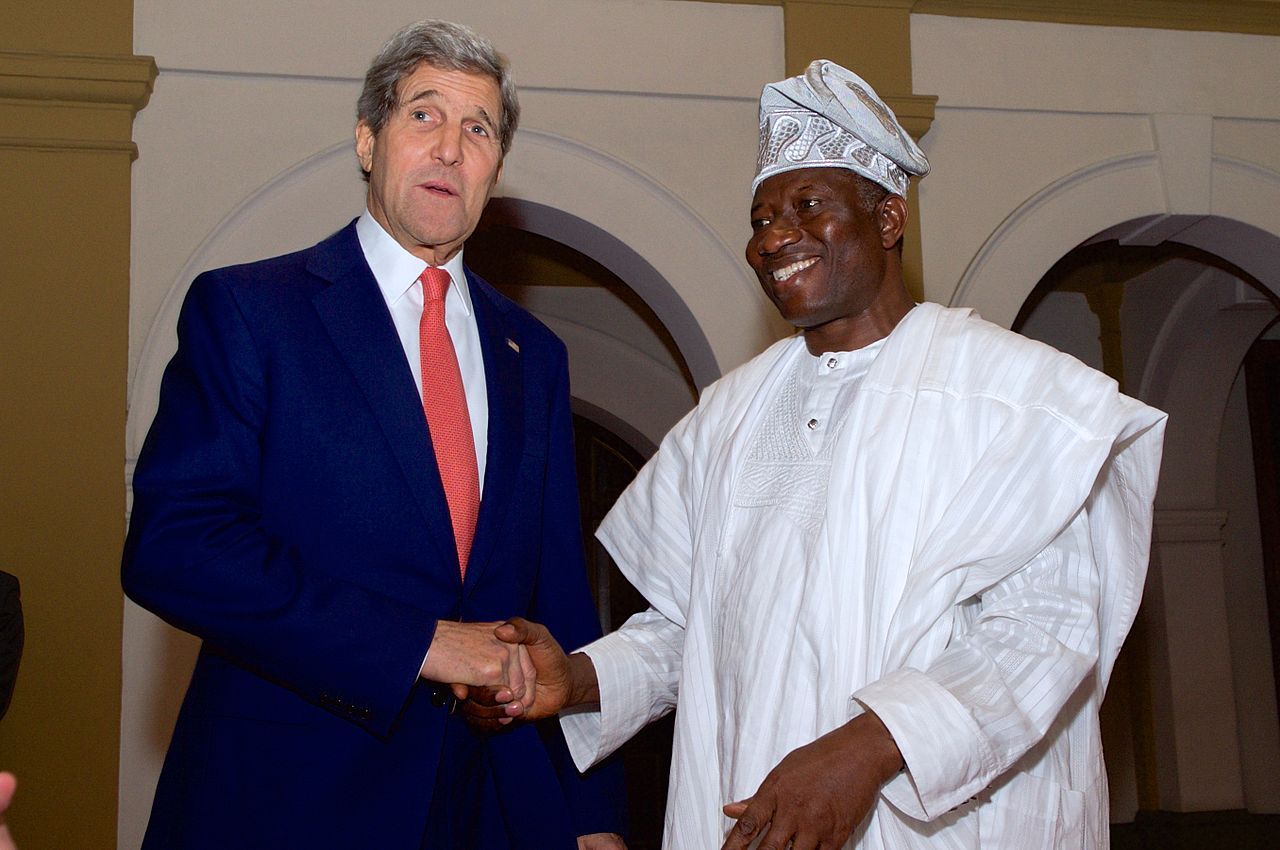 Goodluck Jonathan discusses gay rights, business and Boko Haram at the Union