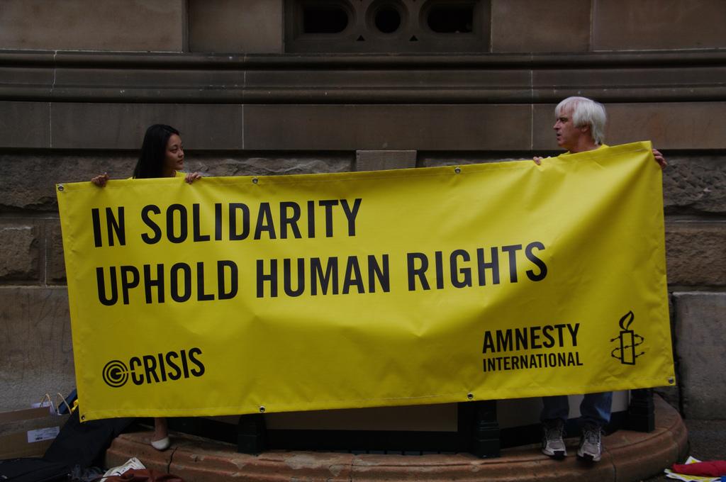 Profile: Sarah O'Grady on Amnesty and Activism