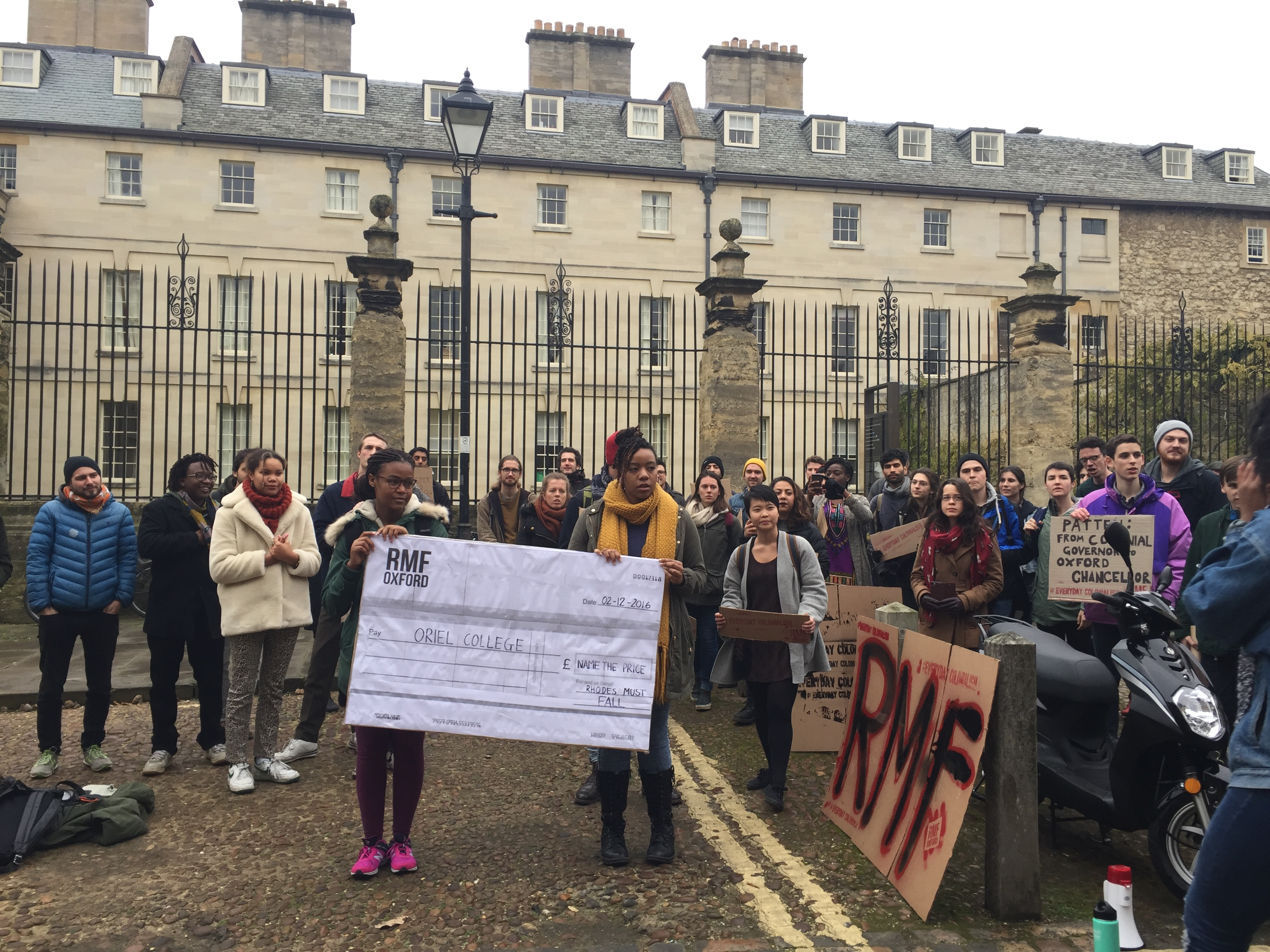 """Rhodes Must Fall accuses university of """"institutional neglect and indifference"""""""