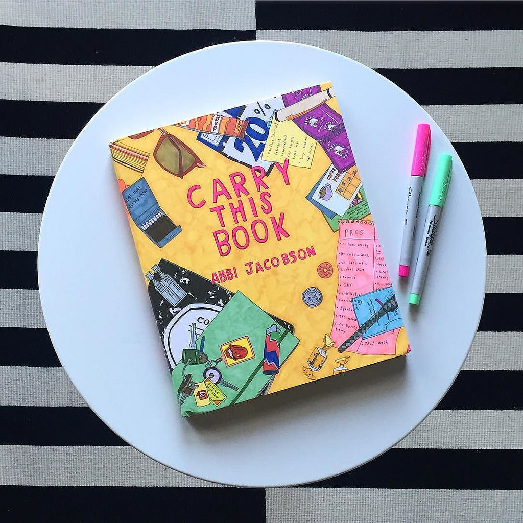 Carry This Book: Bringing Humor and Humanity to Icons