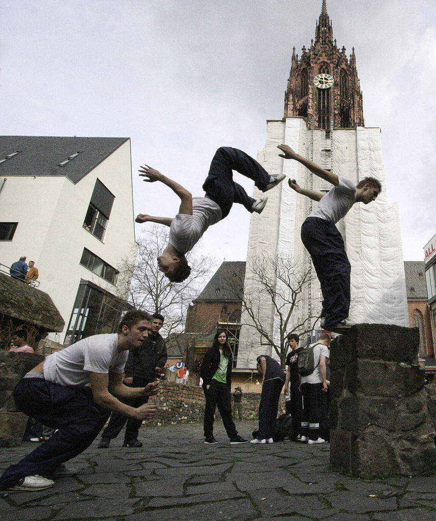 Parkour Recognition Comes at Perfect Time for Oxford Community