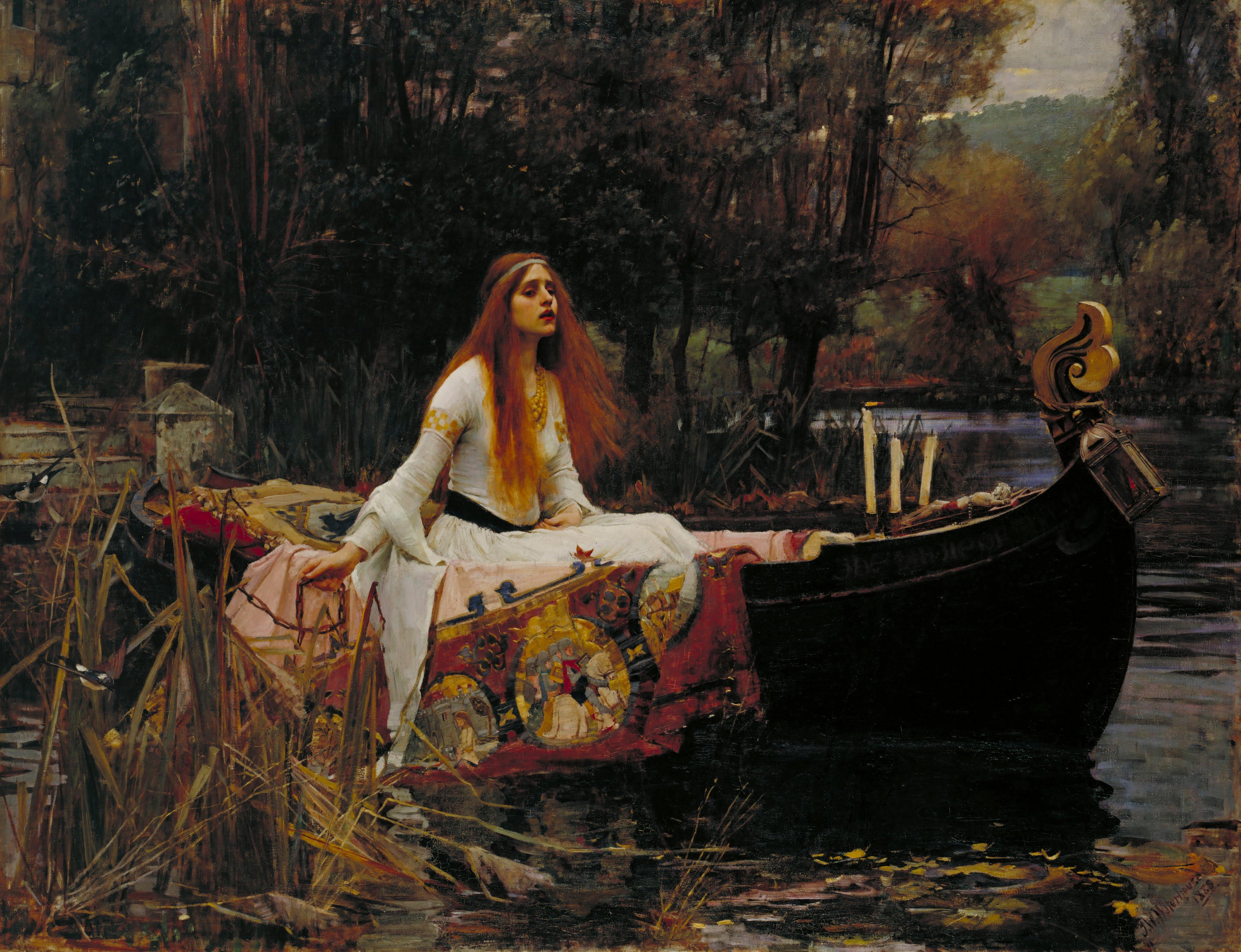 The Lady of Shalott: A Post Pre-Raphaelite Endeavour