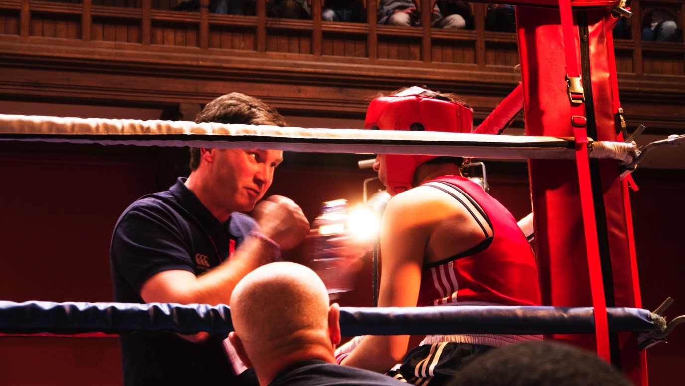 Oxford Town vs. Gown Boxing Match