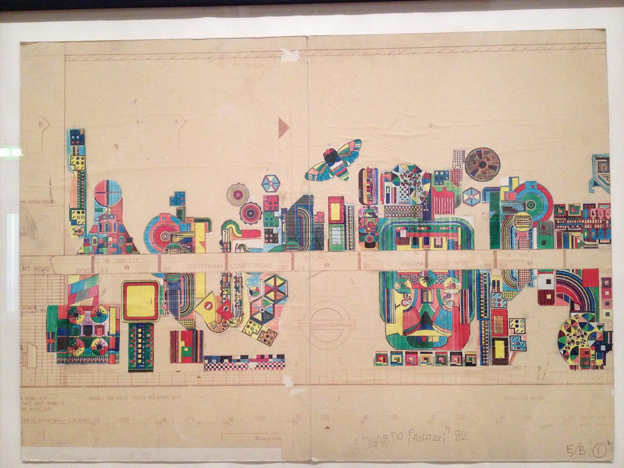 Exhibition: Eduardo Paolozzi at Whitechapel