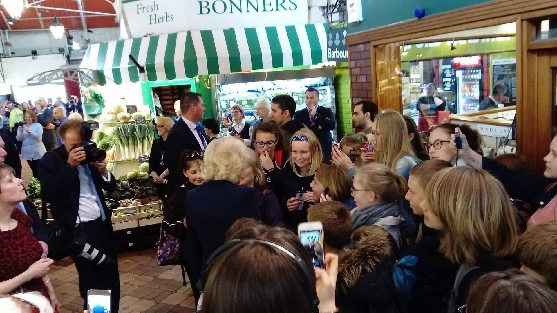 Prince Charles and Camilla visit Oxford