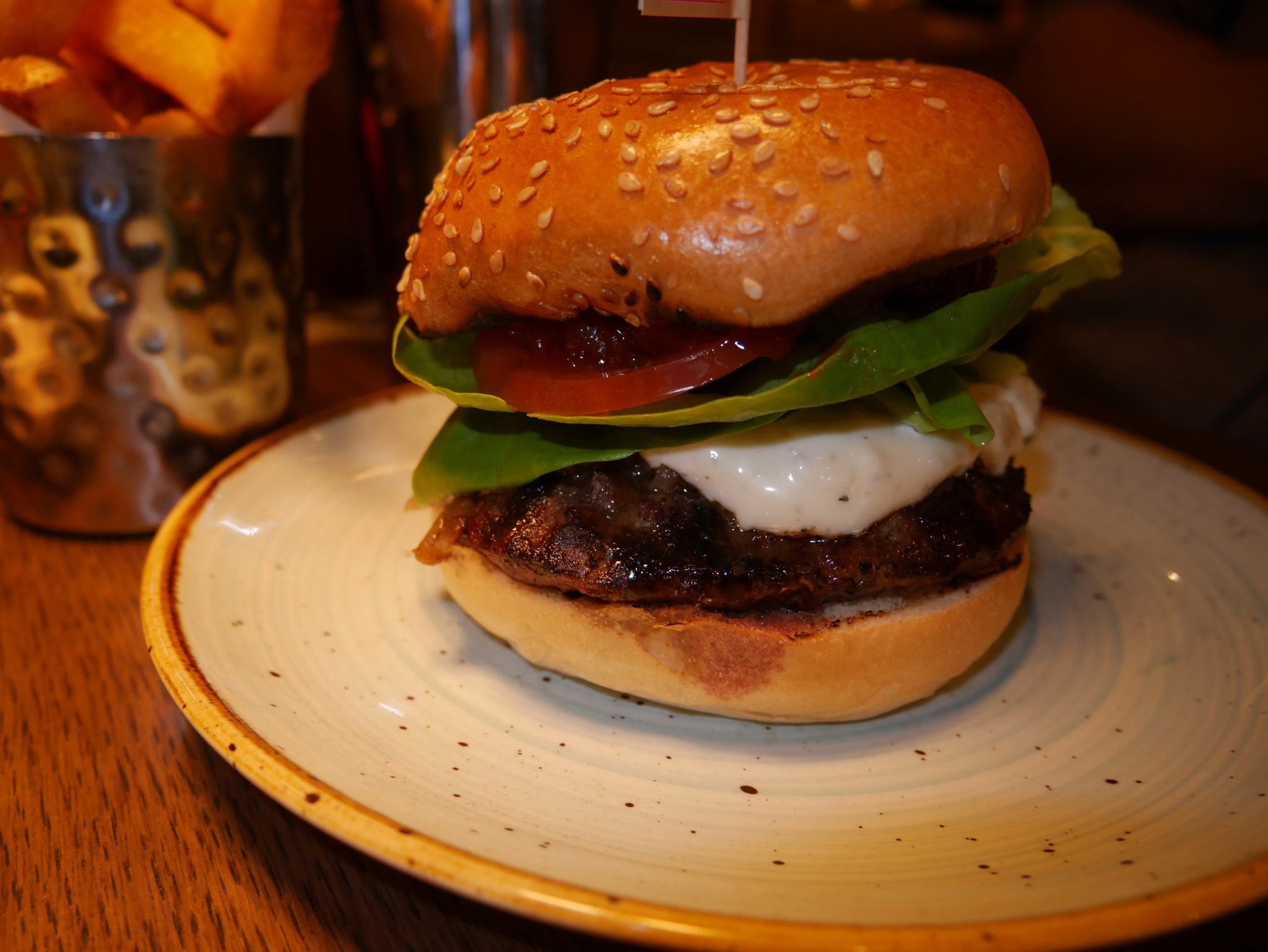 GBK delivers on the gourmet burgers