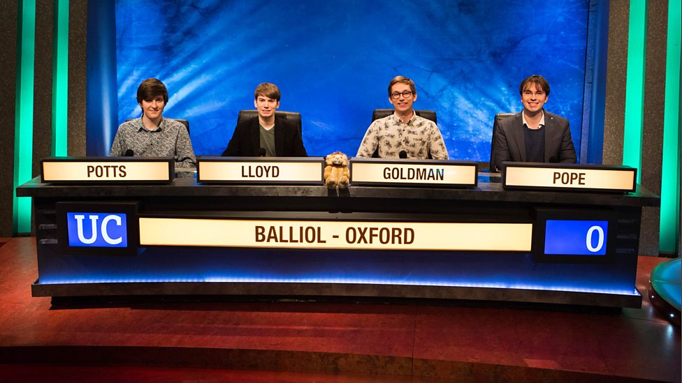 Profile: OxStu meets the 2017 University Challenge winners
