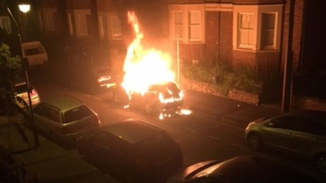 Arson suspect arrested after car burnings