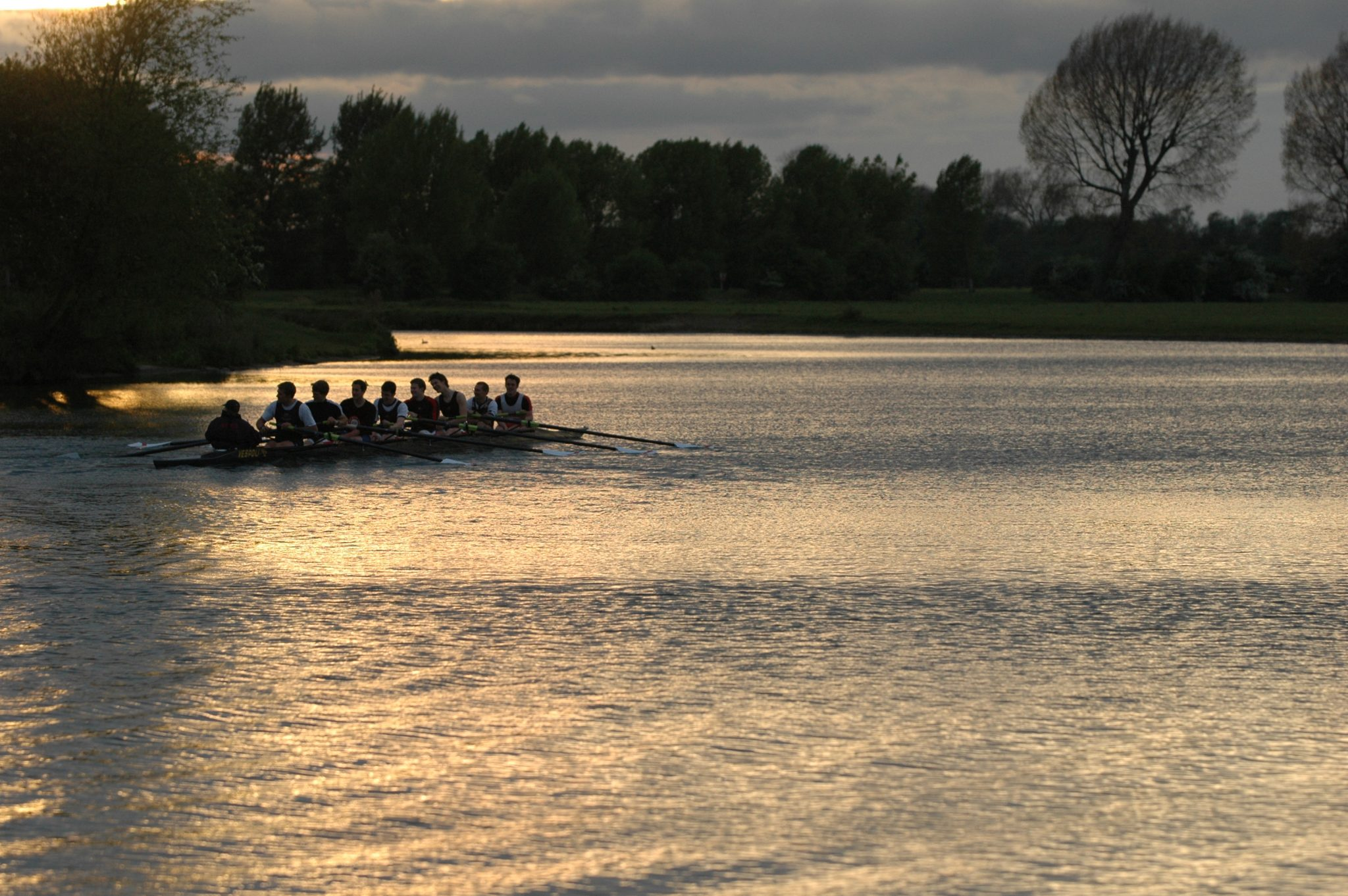 Rowing at Oxford isn't scary