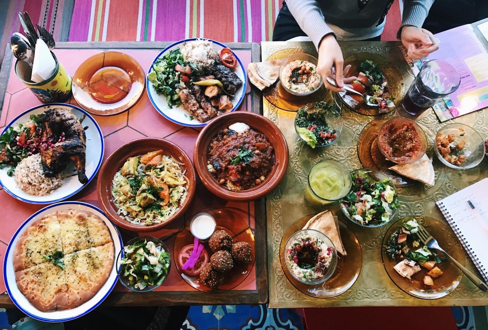 Comptoir Libanais: a visual and culinary treat