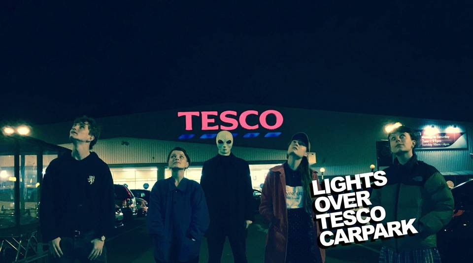 Lights Over Tesco Car Park: Is Anyone Out There?