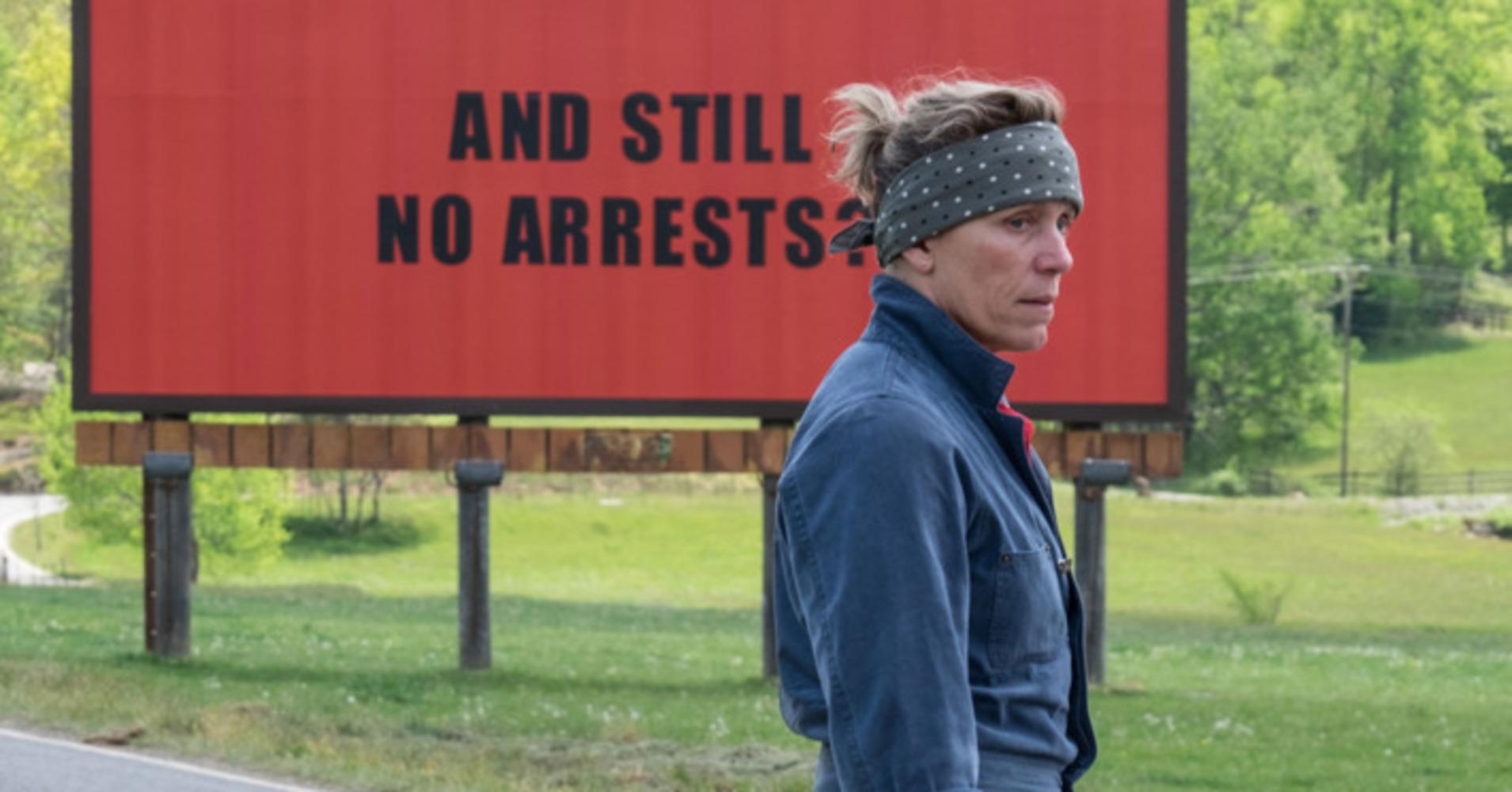 Review: Three Billboards From Ebbing, Missouri