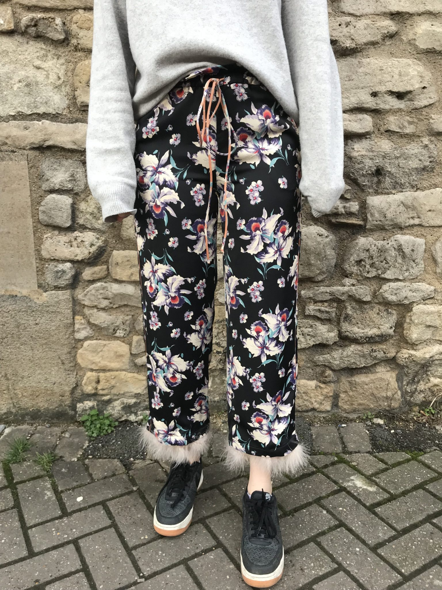 What's wrong with 3/4 length flared trousers?