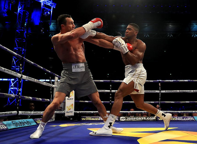 Anthony Joshua: a great role model for British Sport