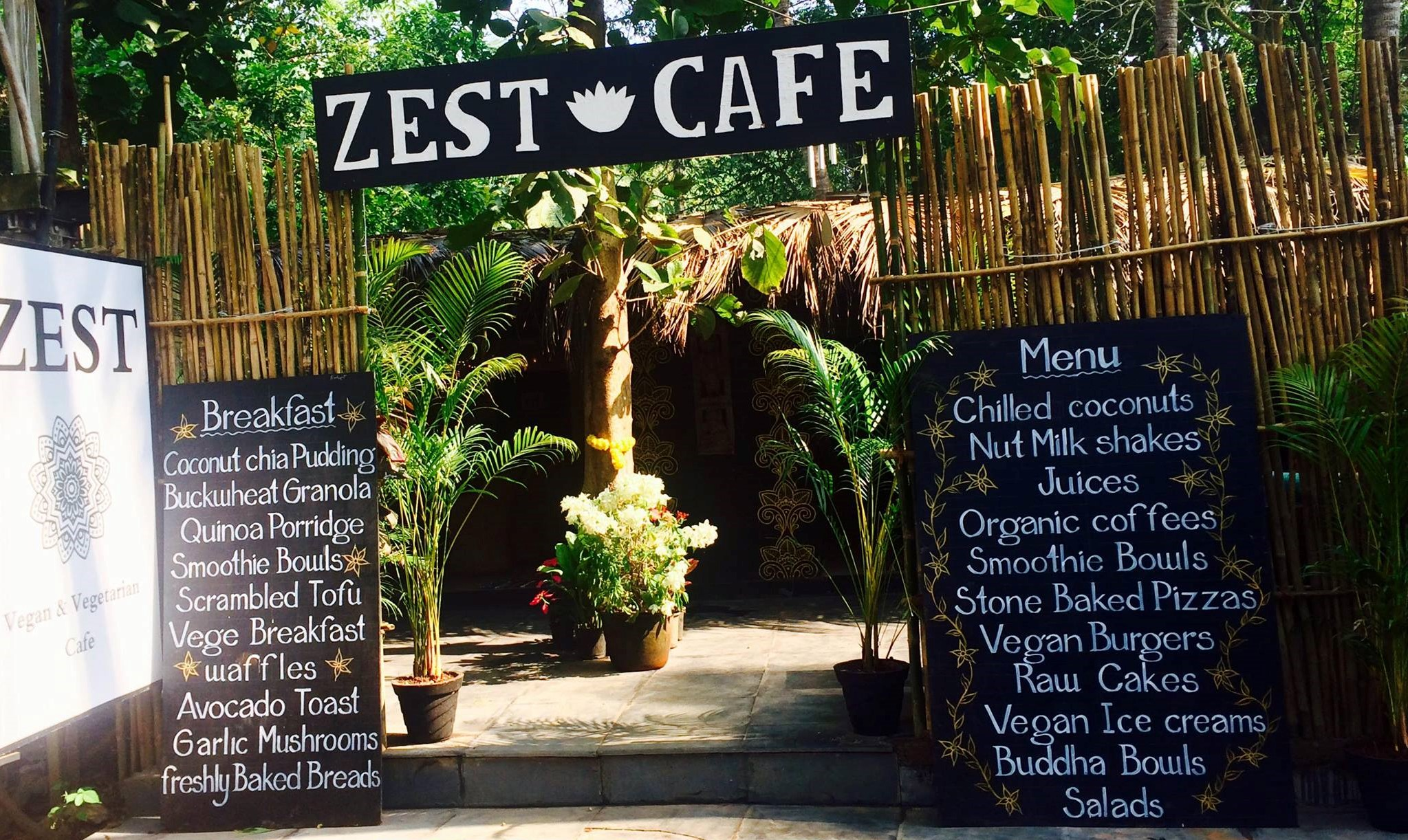 Plant-based paradise at Palolem's Zest Café