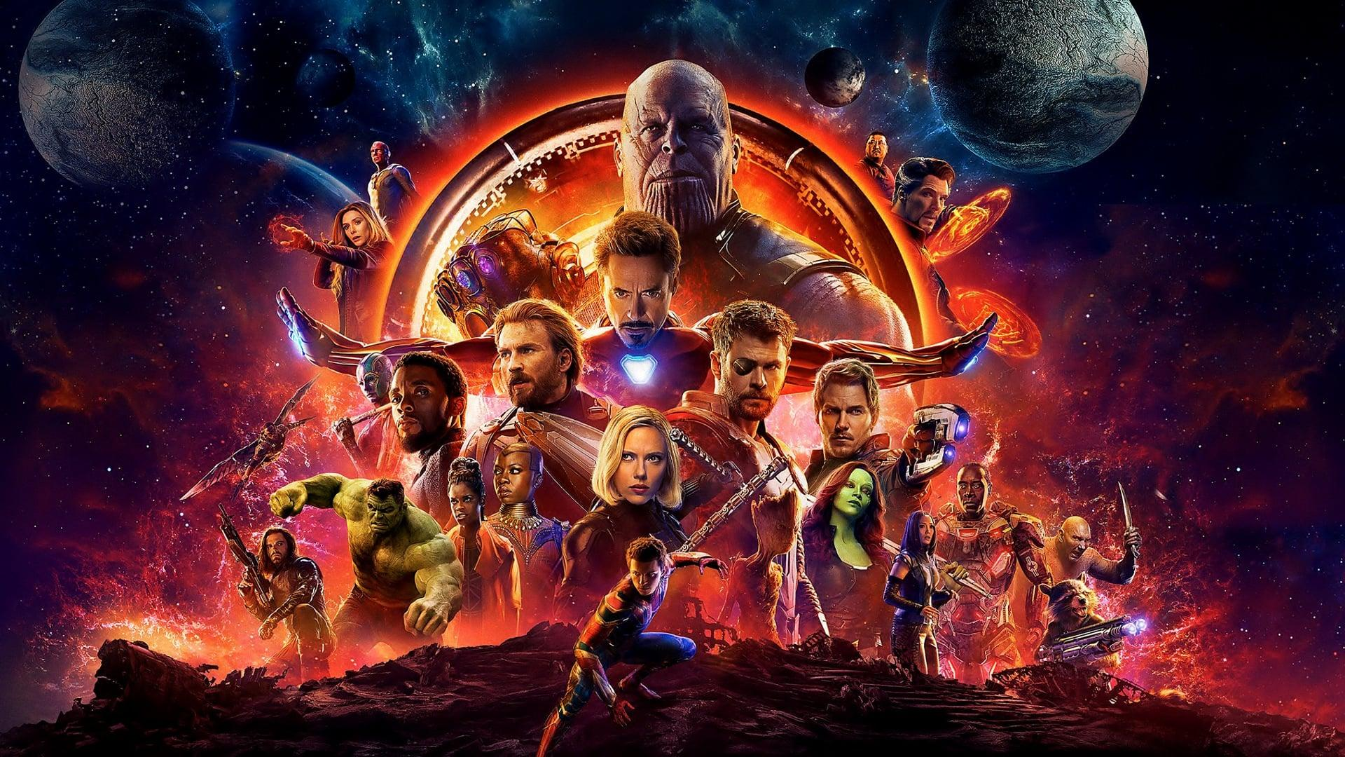 Avengers 3: Infinity War poster