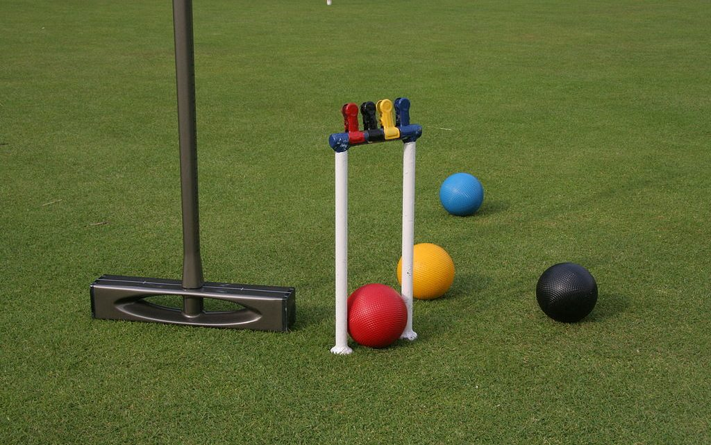 Let's fall in love with croquet this summer