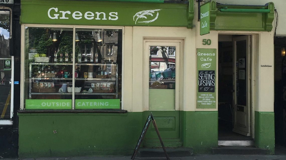 Oxford's best cafés for studying in: Green's Café, St Giles