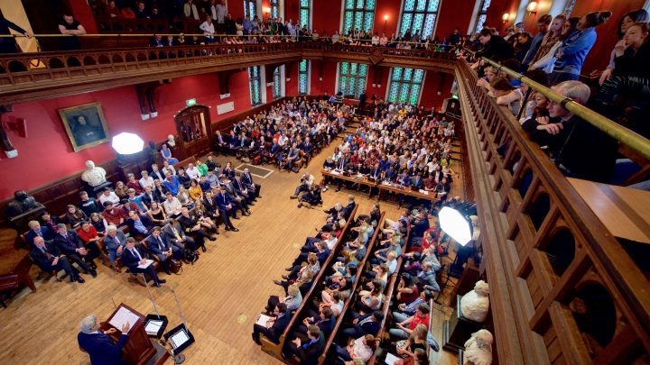 Oxford Union proves itself bastion of free speech by not permitting debate to occur