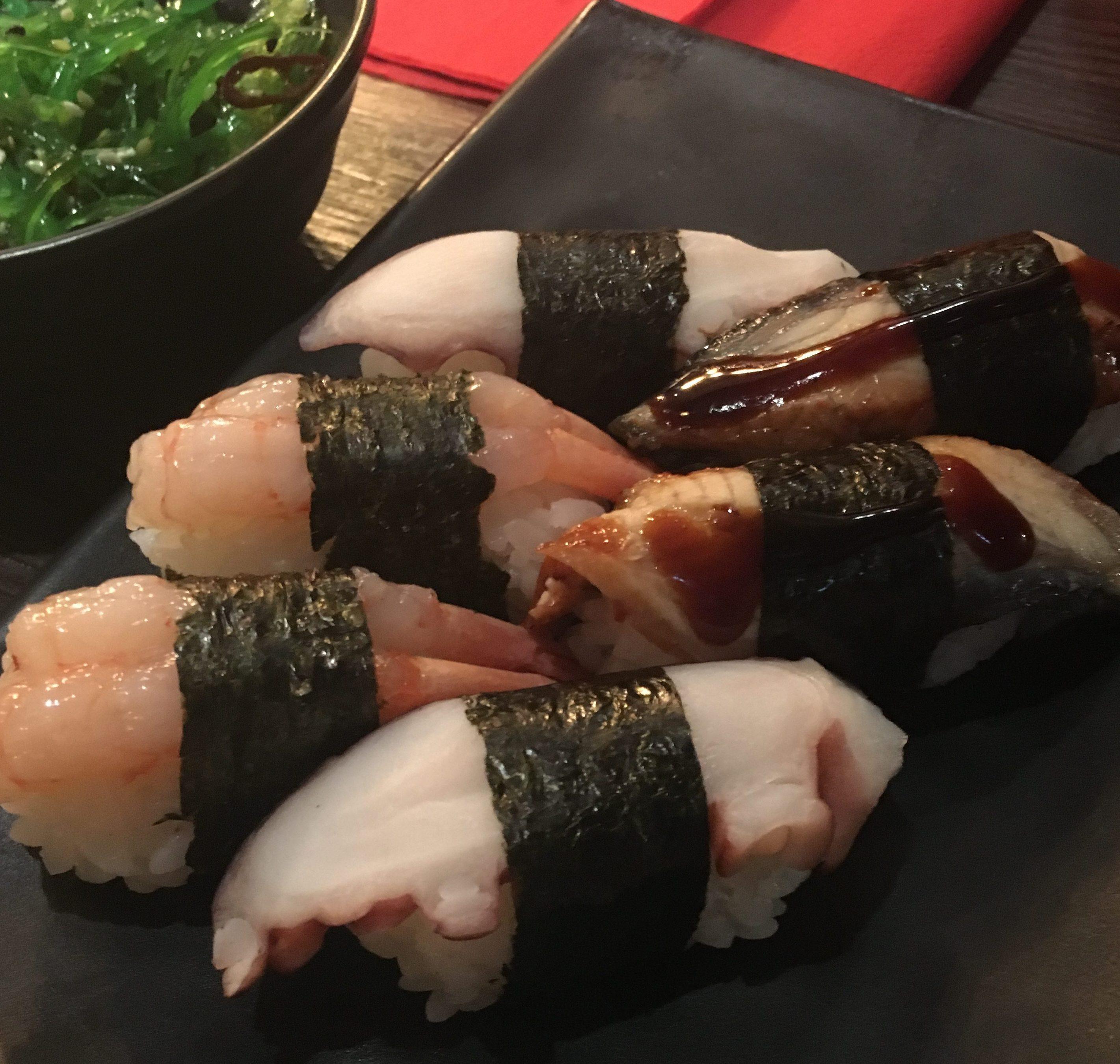 Sushi-mania indeed