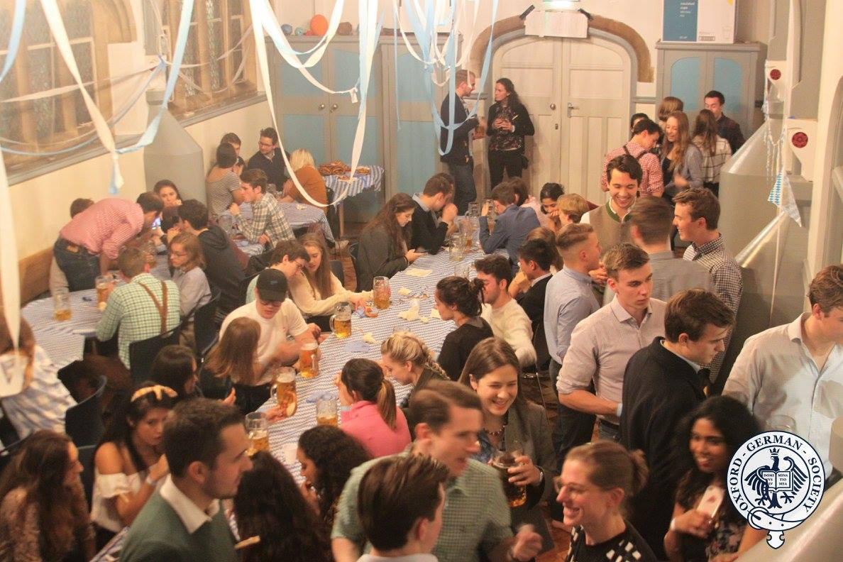 Oxford German Society Oktoberfest 2017