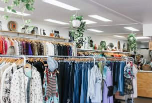 The wide range of fashion that can be found even in your local charity shop