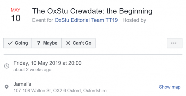 Crew dating Oxford dating website ondersteuning