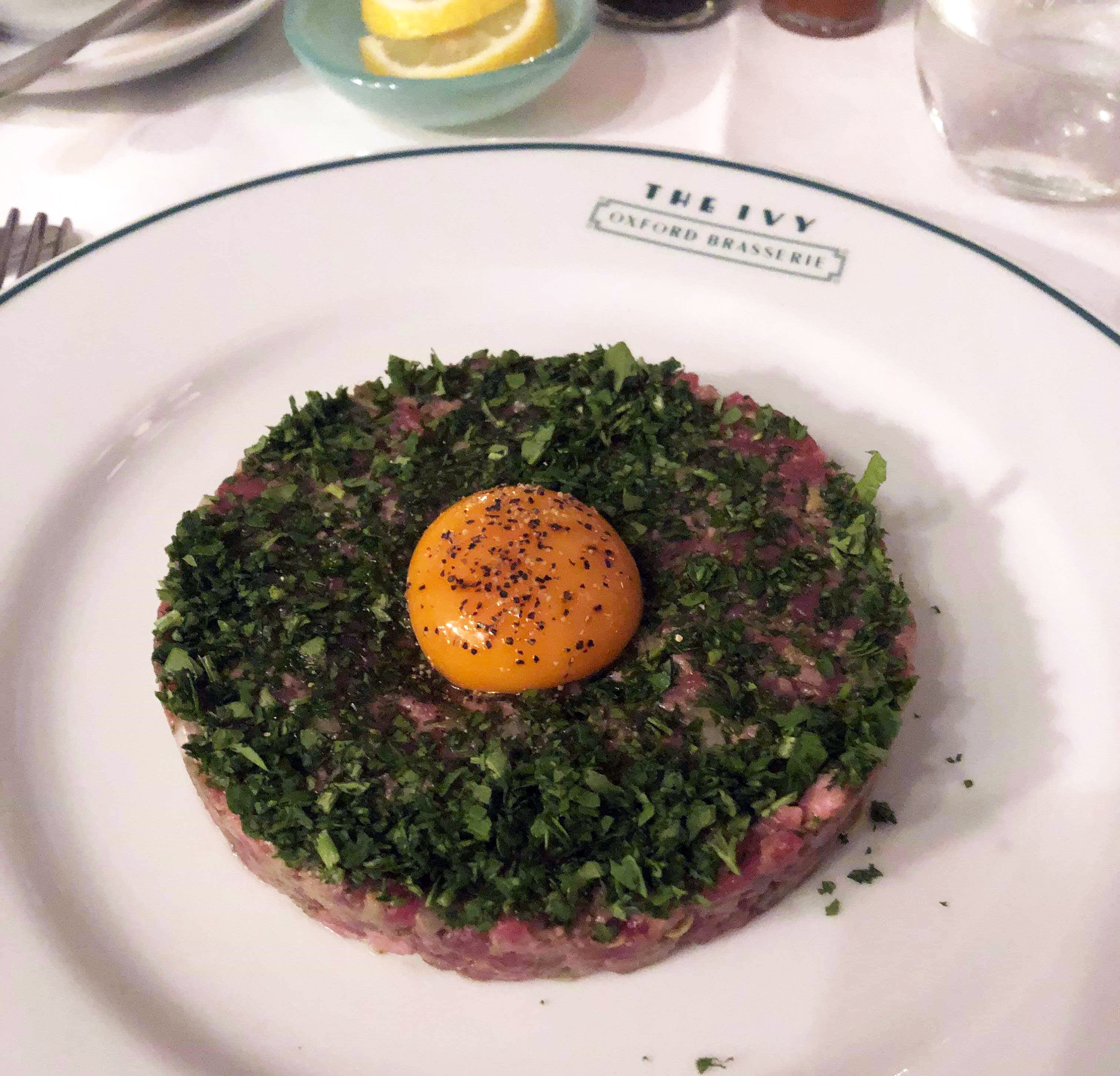 Review An Evening At The Ivy Oxford Brasserie The Oxford