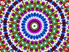 Kaleidoscope often associated with psychedelic 'trips'