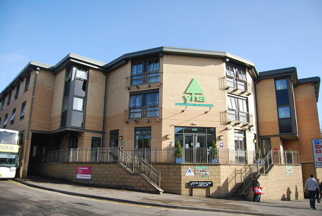 The YHA, where some formerly homeless people are being housed.