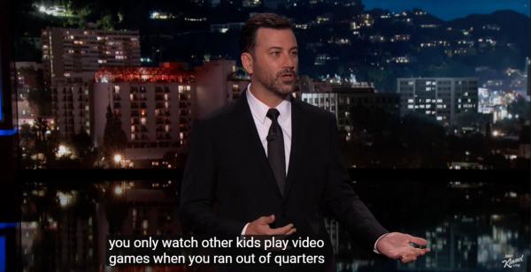 Kimmel on Esports